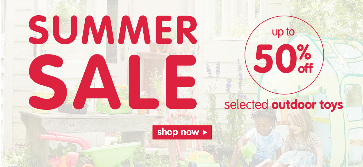 Summer Sale at Early Learning Centre