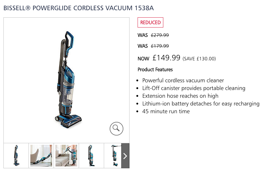Bissell® Powerglide Cordless Vacuum