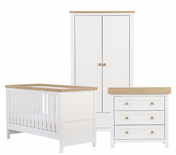 Save £310 on 3-piece Nursery Furniture Set from Mothercare
