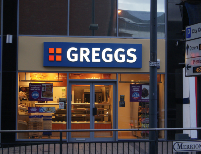 £8 of FREE food from Gregg's for students