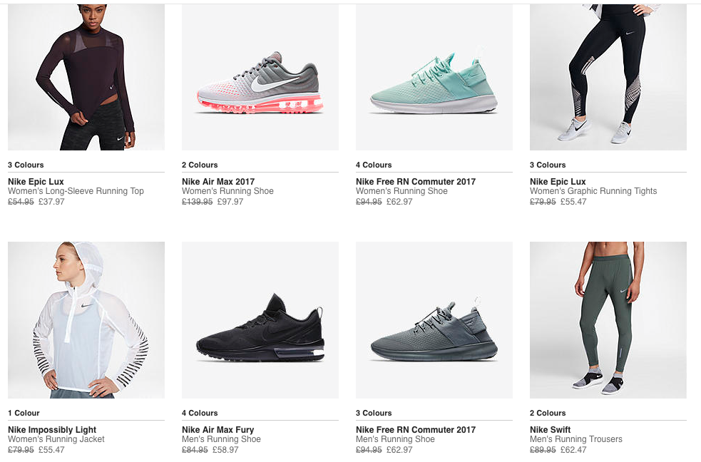 Nike sale... now on!