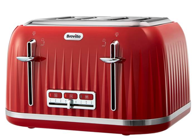 4-Slice Breville Toaster for £21.99