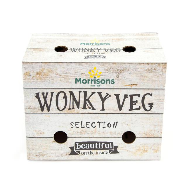Wonky veg box for £1 from Morrisons