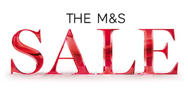 Up to 60% off in M&S sale