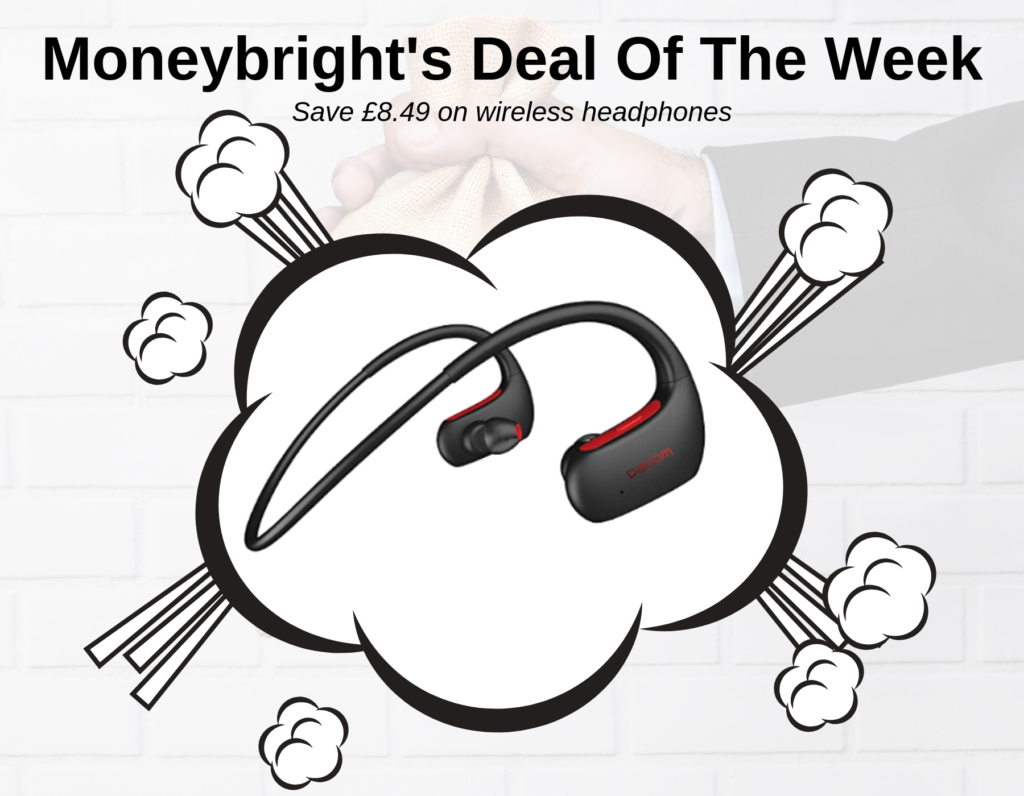 Deal Of The Week – £8.49 Off Bluetooth Headphones