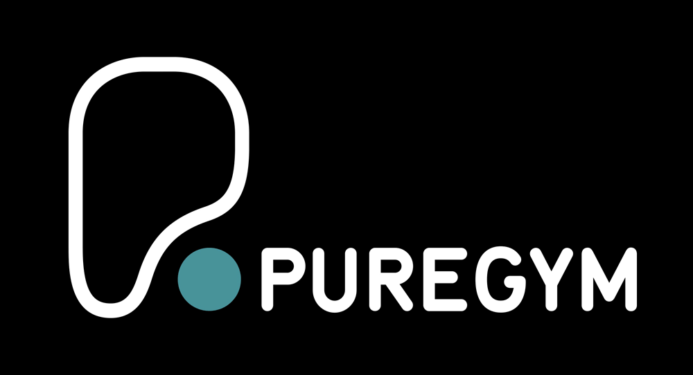 PureGym logo to compare gym memberships in the UK